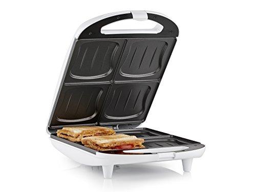 Sandwich Maker Tristar SA-3065 – Quattro toast alla volta – Rivestimento antiaderente