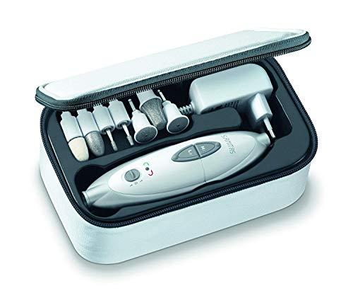 Sanitas SMA 35 - Fresa per Unghie con 7 Accessori per Manicure e Pedicure
