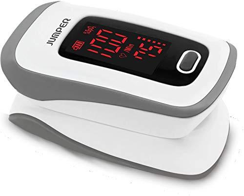 SATURIMETRO PROFESSIONALE DA DITO Pulsossimetro OSSIMETRO SPO2 dito e Cardiofrequenzimetro con display a colori ed orientabile | onda plestimografica