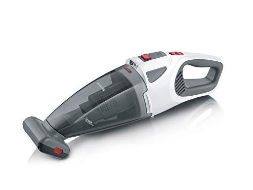 SEVERIN HV 7146, Aspirapolvere portatile per solidi e liquidi, Batteria agli ioni di litio da 18,5V, Più autonomia fino a 30 min, Spazzola turbo, Capacità 650 ml, 4 accessori
