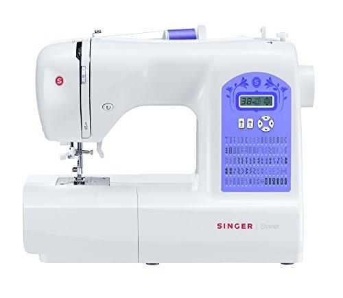Singer Starlet 6680 - Macchina da cucire elettronica (80 tipi di punti), Bianco
