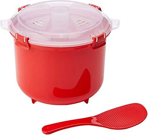 Sistema Rice Cooker, Plastic, Rosso, 2,6L
