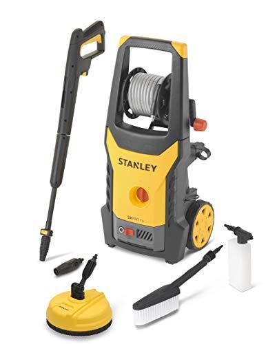 STANLEY SXPW17HPE Idropulitrice ad Alta Pressione con Patio Cleaner e Spazzola Fissa (1700 W, 130 bars, 420 l/h)