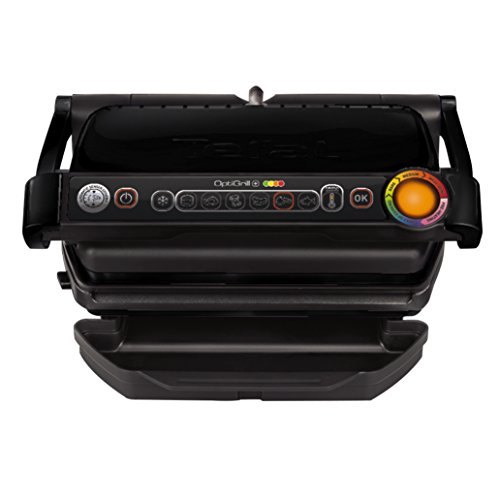 Tefal GC 7128 Griglia di contatto Da tavolo Elettrico 2000W Nero barbecue e bistecchiera