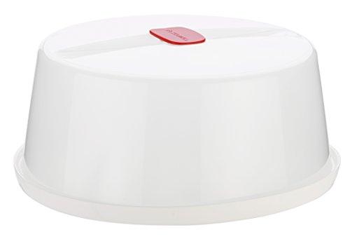 Tescoma 705050 Purity Microwave Coperchio, Plastica, Bianco, 24.7 x 24.7 x 10.6 cm