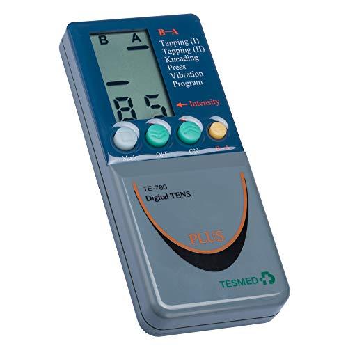 TESMED TE780 PLUS elettrostimolatore muscolare: EMS, estetica, TENS, massaggio -utilizzo di 8 elettrodi contemporaneamente - 2/4 canali