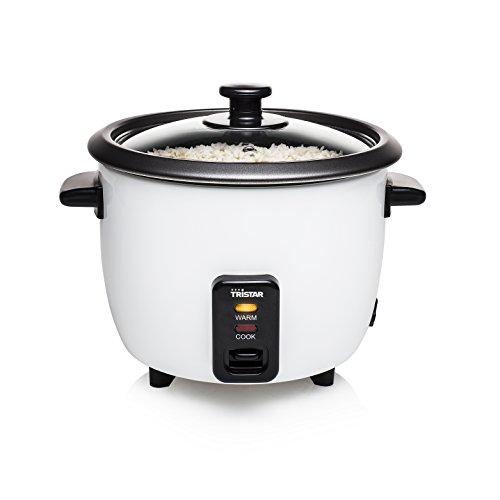 Tristar RK-6117 - Cuociriso Funzione di mantenimento in caldo, 300W, 0.6 litri, per 3 porzioni di riso