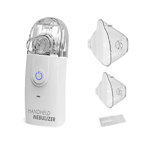 TZLong Aerosol Ultrasuoni Portatile per Adulti Bambini, Inalatore Areosol Silenziosi per la Tosse Fredda Asma Polmonare Albuterolo,Nebulizzatore Elettrico per Viaggi negli Uffici Domestici