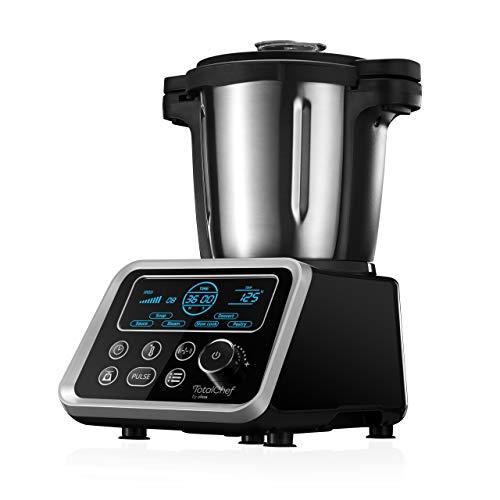 Ufesa Totalchef RK5 - Robot Da Cucina Con Cottura, Vari programmi per cucinare, 1700W di potenza, Display LCD, Caraffa con capacità di 3,5 l, Ricettario e Manuale in Italiano, BPA Free