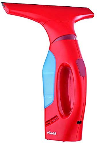 Vileda 146752 Windo MATIC Aspiragocce Elettrico Senza Fili, 12 W, Plastica, Rosso