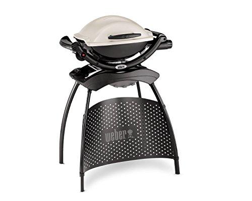 Weber Q 1000 Titan Barbecue Kettle Gas 2600W Nero, Bianco