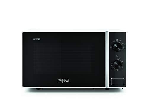 Whirlpool MWP 101 W Forno a Microonde, 20 litri, Bianco, potenza microonde 700W