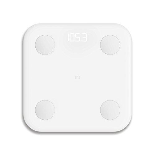Xiaomi Mi LPN4013GL, Bilancia Pesapersone ad Alta Precisione, con Connessione Bluetooth a Smartphone IOS e Android