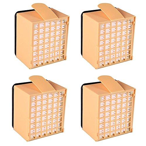 YanBan Per Filtri HEPA Vorwerk, Accessori Vorwerk Microfiltro Igienico per Aspirapolveri Vorwerk Kobold VK135 VK136, Confezione da 4