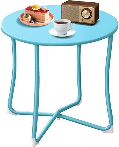 Amagabeli Tavolini Tavolino in metallo per caffè Snack Tablet Colazione Divano Cucina Tavolo da servizio Vassoio Basso Divano tavolo Tavolo portatile Tavolo da giardino