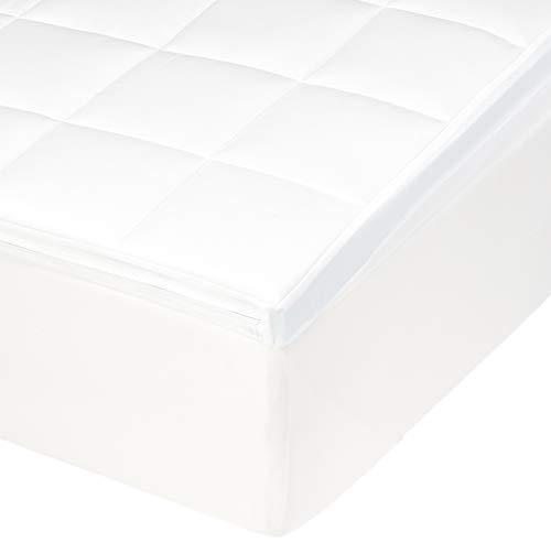 Amazon Basics - Coprimaterasso in memory foam, 90 x 200 x 5 cm
