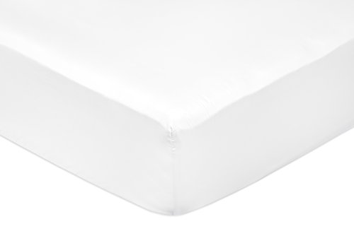 Amazon Basics Matrimoniale King Size, Bianco, 180 x 200 x 30 cm