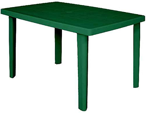 ARETA ARE022 Tavolo, Modello Marte, Verde, 100 x 67 x 72 cm