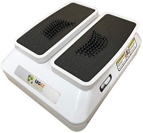 BioEnergiser Leg Exerciser Pro - Allenamento passivo per giovani e anziani, 3 livelli, con telecomando, movimento delicato e costante - adatto per anziani I LEGEX Circulation Leg Exerciser Pro