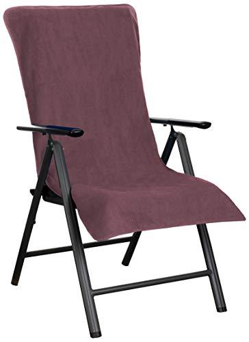 Brandsseller Fodera per sedie da giardino e sdraio in spugna di 100% cotone, disponibile in diversi colori