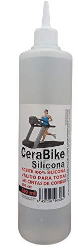 CeraBike Silicone 100% Lubrificante per nastri da corsa e camminare, 530 ml