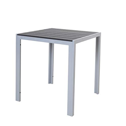 Chicreat T160.411 Tables/Picnic, Silver And Black, 70 x 70 x 75cm