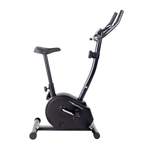 Cyclette TechFit B250, Volano 4,5 kg, Sistema Magnetico a 8 Livelli e Supporto per Tablet per Fitness e Cardio a Casa
