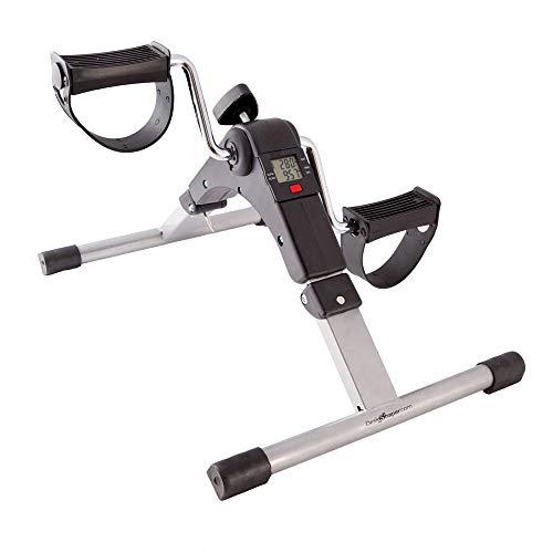 DeskShaper - Pedaliera per l' allenamento in casa di braccia e gambe, con display LCD e resistenza regolabile, facile e divertente da usare.