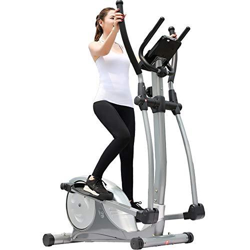 Ellittiche Ellittiche e cyclette con seduta e facile Computer Studio Fitness Workout macchina macchina ellittica Macchina per Allenamento per uso domestico ( Colore : Black , Size : 133x74x160cm )