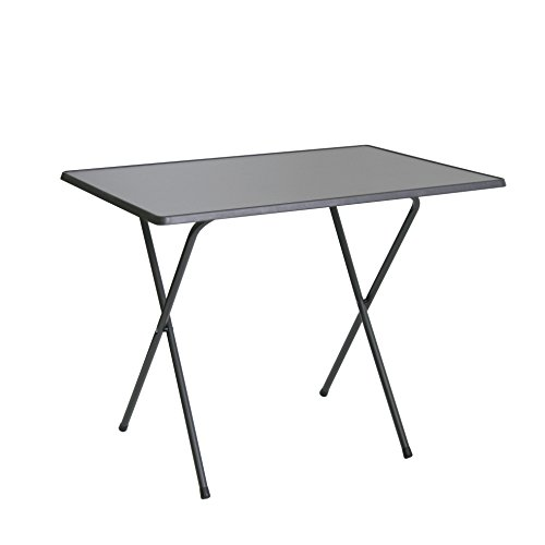 Greemotion 436225 Tavolo pieghevole 60 x 80 x63 cm, antracite
