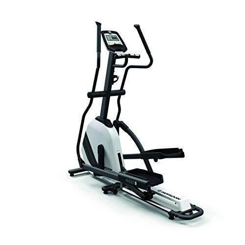 Horizon Fitness Elliptical Andes 3, Ellittica. Unisex-Adulto, Bianco/Nero, L x B x H in cm: 173 x 67 x 171 cm
