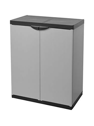 Mongardi 7815C04,Armadio Basso, colore grigio