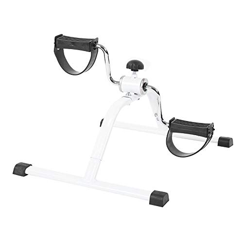 Pedale Ginnico Portatile Minibike Pedaliera Mini Cyclette Pedaliera Fitness Pieghevole per Braccia & Gambe Attrezzatura per Esercizio al Coperto Terapia Fisica Pedaliera Riabilitazione