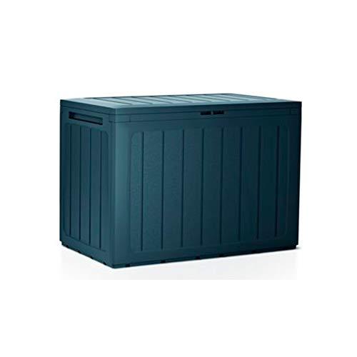 Prosperplast Baule da giardino 190 litri Boardebox in plastica color antracite 78 x 43,3 x 55 cm, 190 litri
