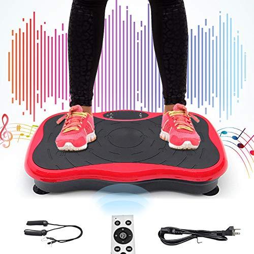 TOPQSC Piattaforma Dimagrante Fitness,Macchina Dimagrante Domestica,Modellatore Multifunzione per Il Corpo,Piastra Vibrante Silenziosa,Shaper per La Salute Fisica