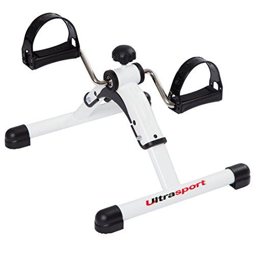 Ultrasport Mini Bike Cyclette per Allenamento di Gambe e Braccia, Bici da Allenamento per Giovani e Anziani, con Computer per l'Allenamento Opzionale Attrezzo da Allenamento per Casa o Ufficio