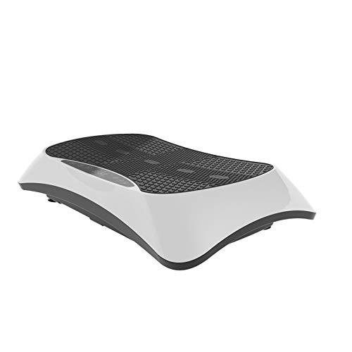 VibroSlim Pedana Vibrante 4D | Funzione Massaggio | Perdi Peso brucia i Grassi tonifica i Muscoli | 4 programmi 180 velocità | 3 Motori | Bluetooth, Altoparlanti e contacalorie | Telecomando da Polso