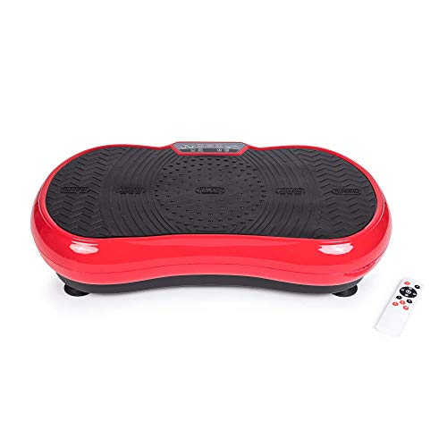 ZEN SHAPER® MINI Piattaforma fitness vibrante ultrasottile (modello 2021) - Condizionamento estetico del corpo - Altoparlanti Bluetooth e musica - Elimina il grasso, ripristina l'elasticità muscolare