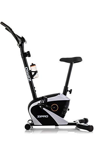 Zipro, Cyclette Magnetica Beat RS Fino a 120 kg, Massa centrifuga di 6 kg. Unisex-Adulto, Nero, Taglia Unica