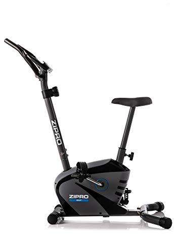Zipro - Cyclette magnetiche per adulti, per fitness, fino a 120 kg, massa volano di 6 kg, nero, taglia unica
