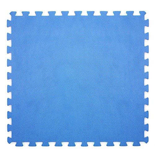 6x Tappetino blu 60x60cm fondo piscina protezione antiscivolo fondale 43871