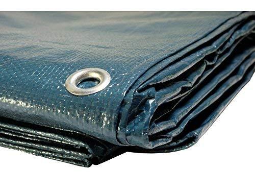 Bâches Direct Telone di copertura per piscina, 150 g/m², dimensioni: 6 x 10 m, copertura impermeabile