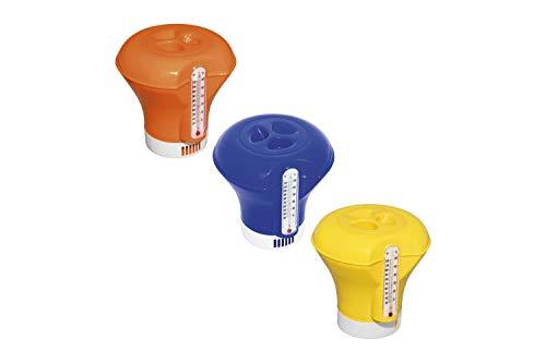 Best Way 58209 Dispenser Cloro Grande da Cm 18,5 con Termometro 3 Colori Assortiti 452