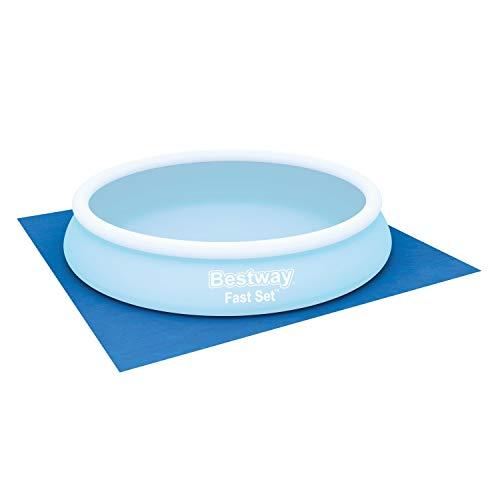 Bestway 58002B - Tappetino per piscina, 366x366 cm