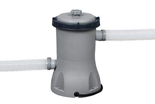 Bestway 58383 | Flowclear - Pompa di Filtraggio a Cartuccia per Piscine fuori Terra, Portata 2.006 L/h