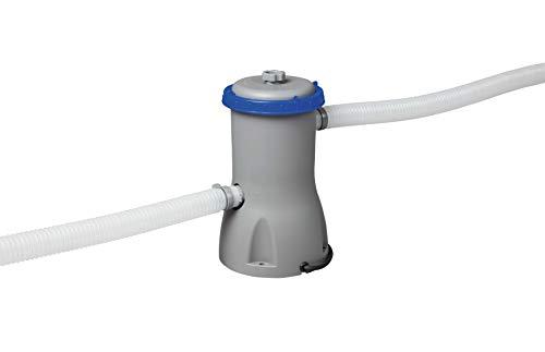 Bestway 58386 | Flowclear - Pompa di Filtraggio a Cartuccia per Piscine fuori Terra, Portata 3.028 L/h