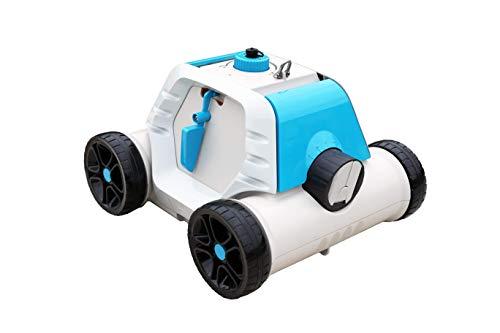 Bestway 58519 - Robot Elettrico autonomo Thetys, per Piscina a Fondo Piatto, Batteria Ricaricabile