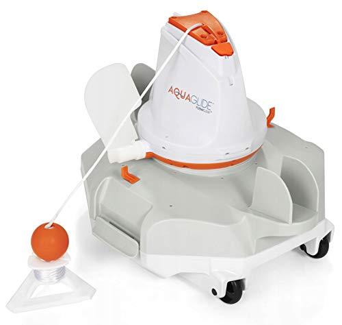 Bestway BW58620 Aquaglide - Robot per la pulizia della piscina, colore: Grigio