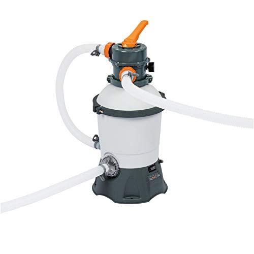 Bestway Flowclear - Impianto con filtro a sabbia per piscina, con dosatore ChemConnect integrato