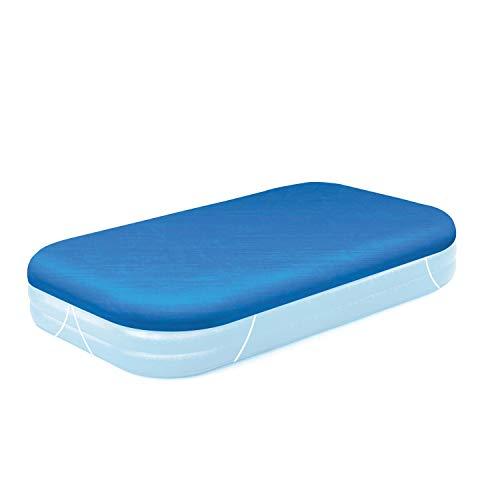 Bestway - Telo di copertura per piscine gonfiabile, 305 x 183 cm, Colore: blu